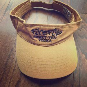 Other - Firefly Sweet Tea Vodka golden yellow visor